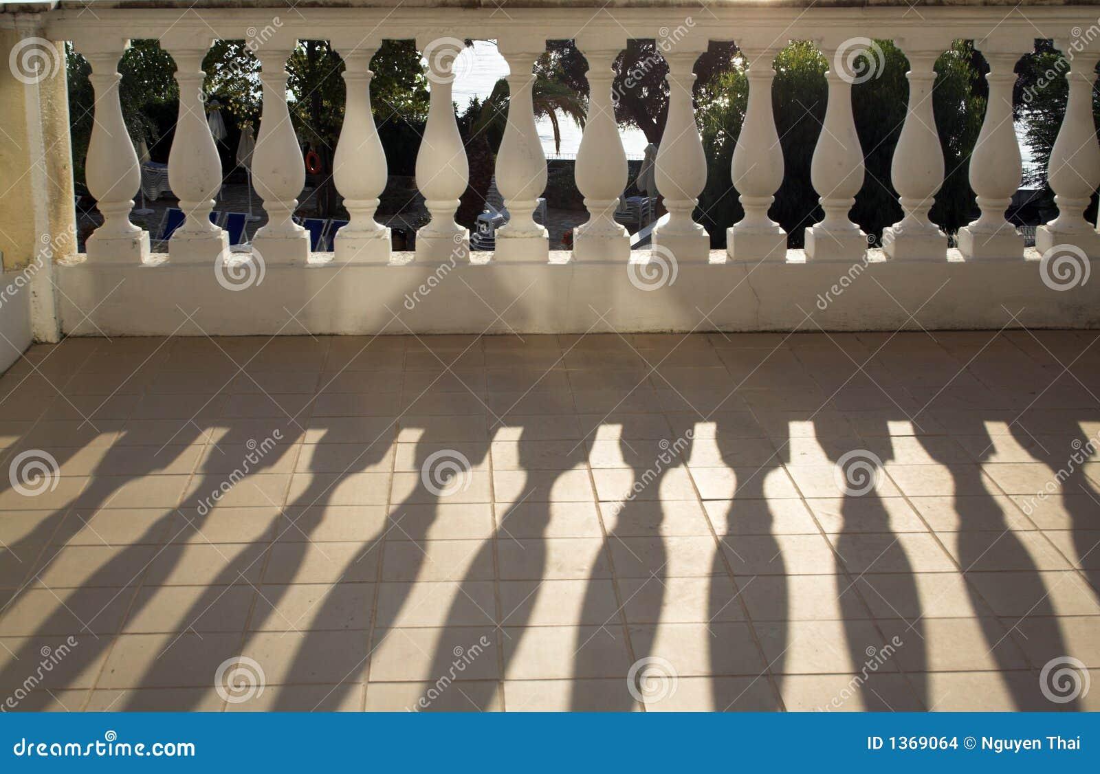 楼梯栏杆铸件遮蔽阳光
