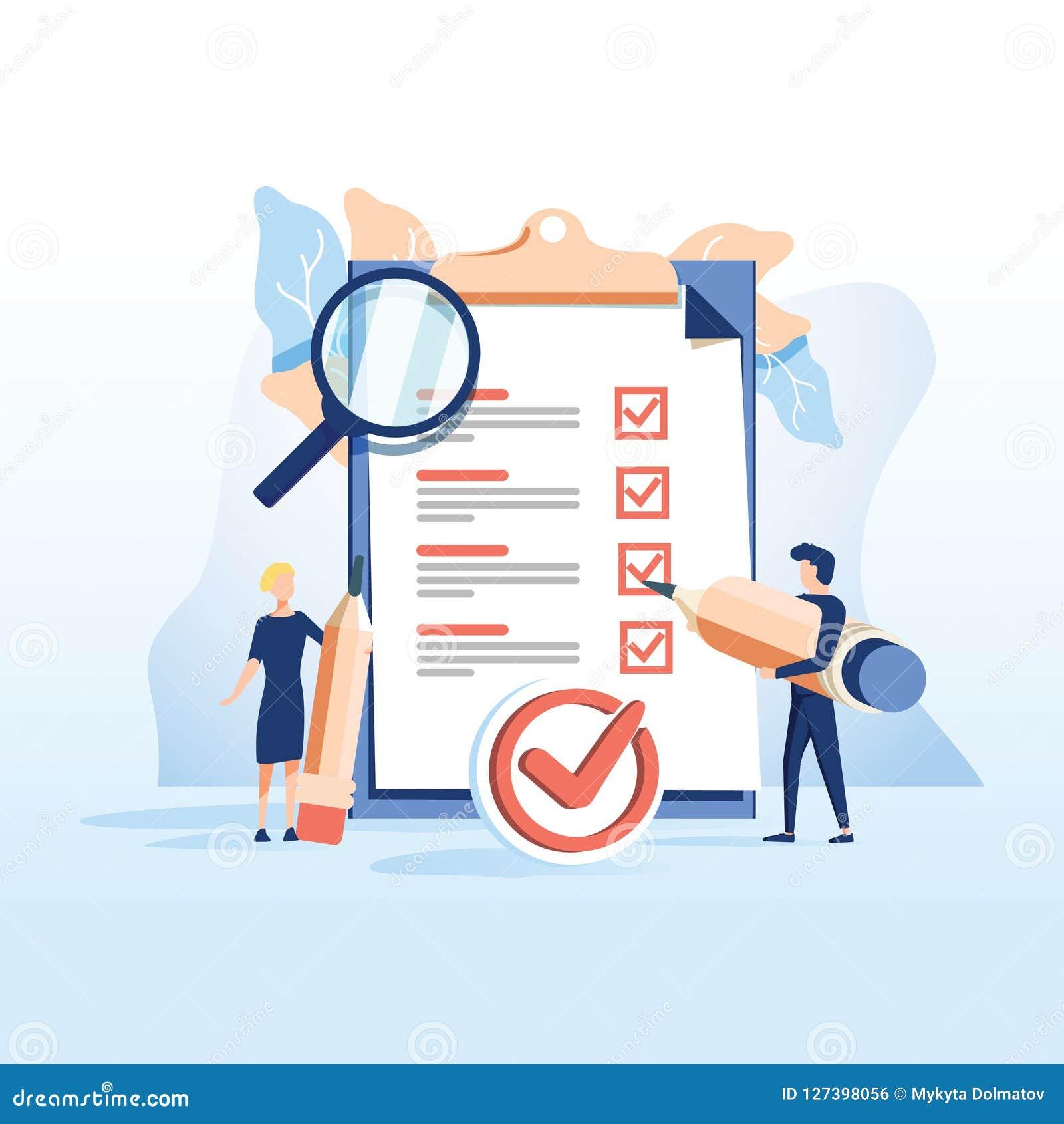 概念人填好表格,就业的申请表 人们为网页的一个工作选择一份简历