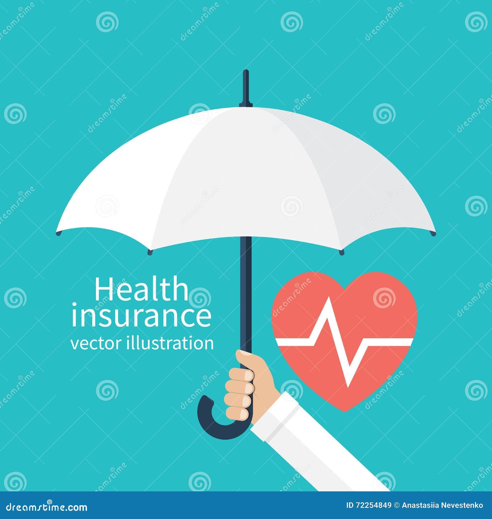 概念健康保险查出在白色