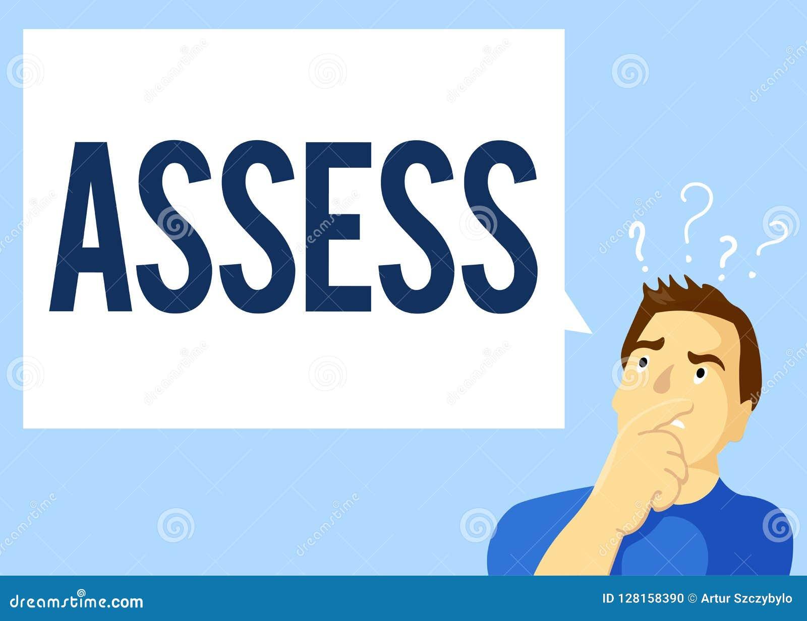 概念性手文字陈列估计 企业照片文本评估或估计产品的自然能力质量