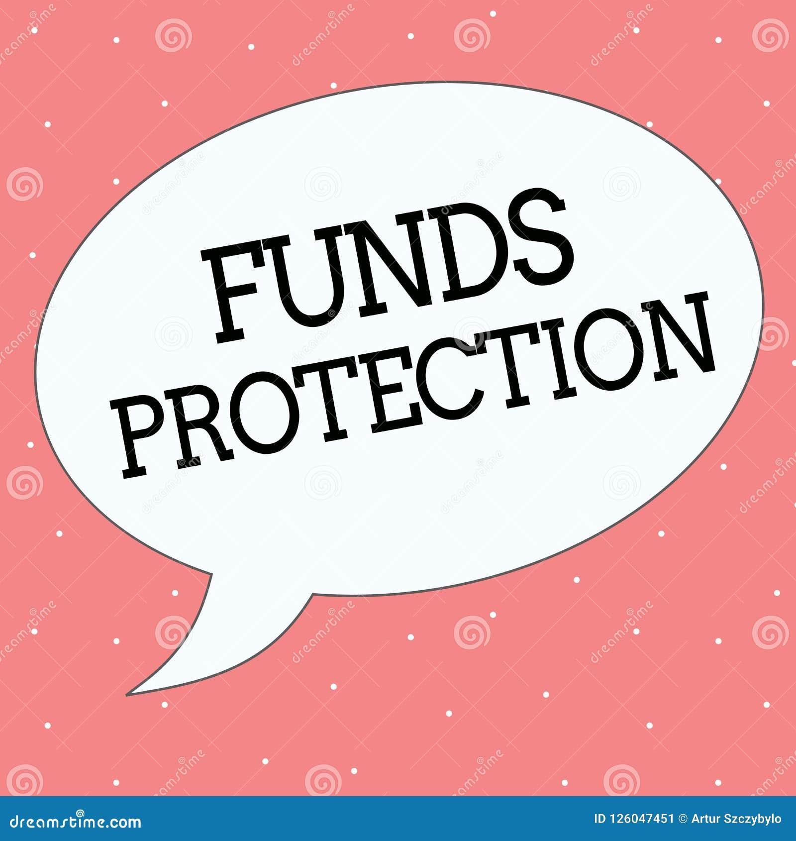 概念性手文字陈列资助保护 企业照片文本诺言退回部分最初的投资到投资者