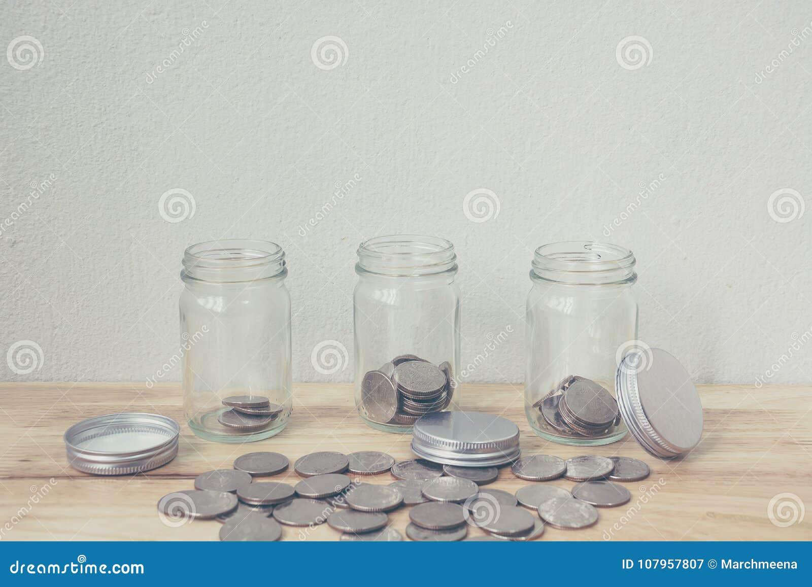 概念挽救金钱和投资生长事务