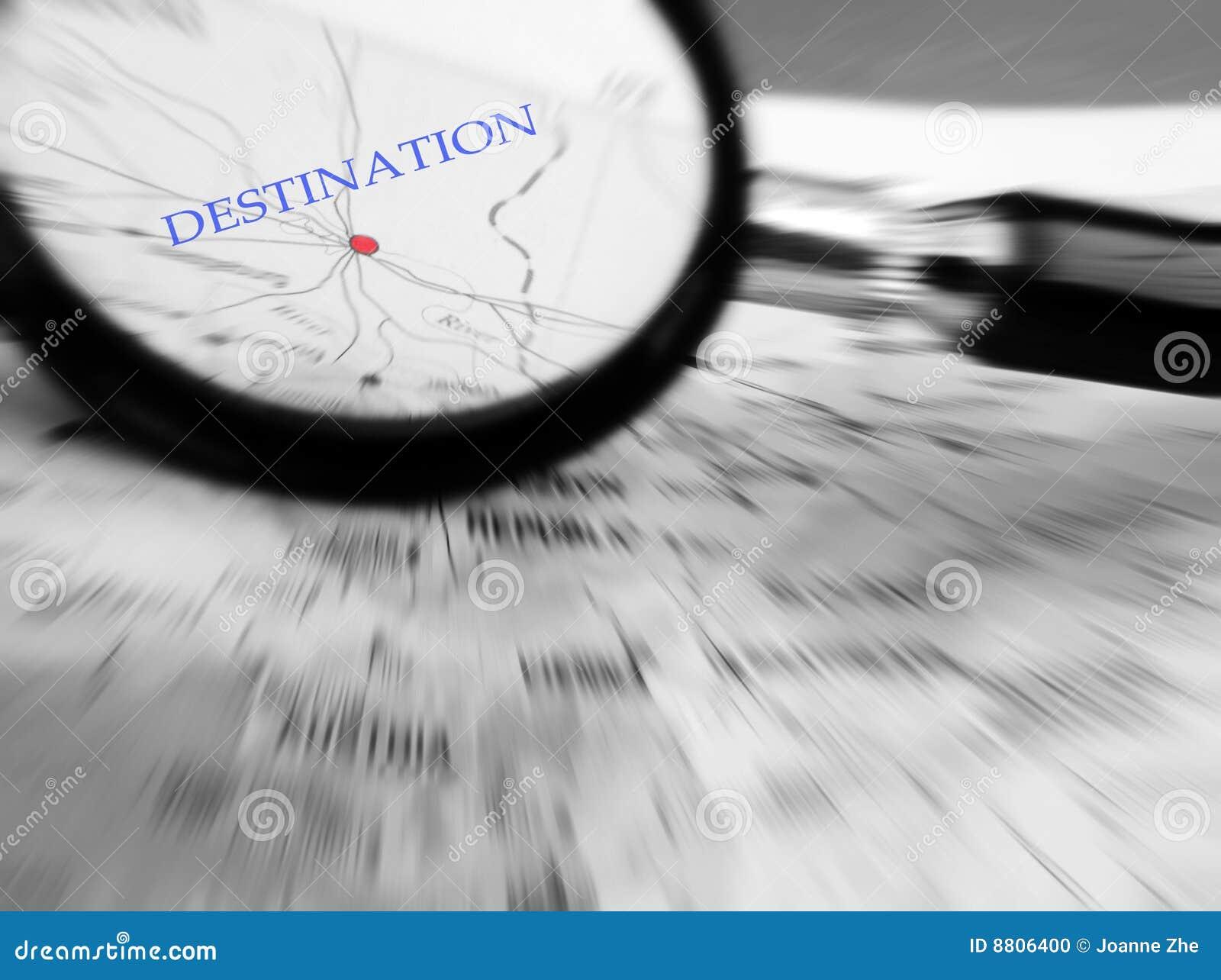概念目的地重点旅行