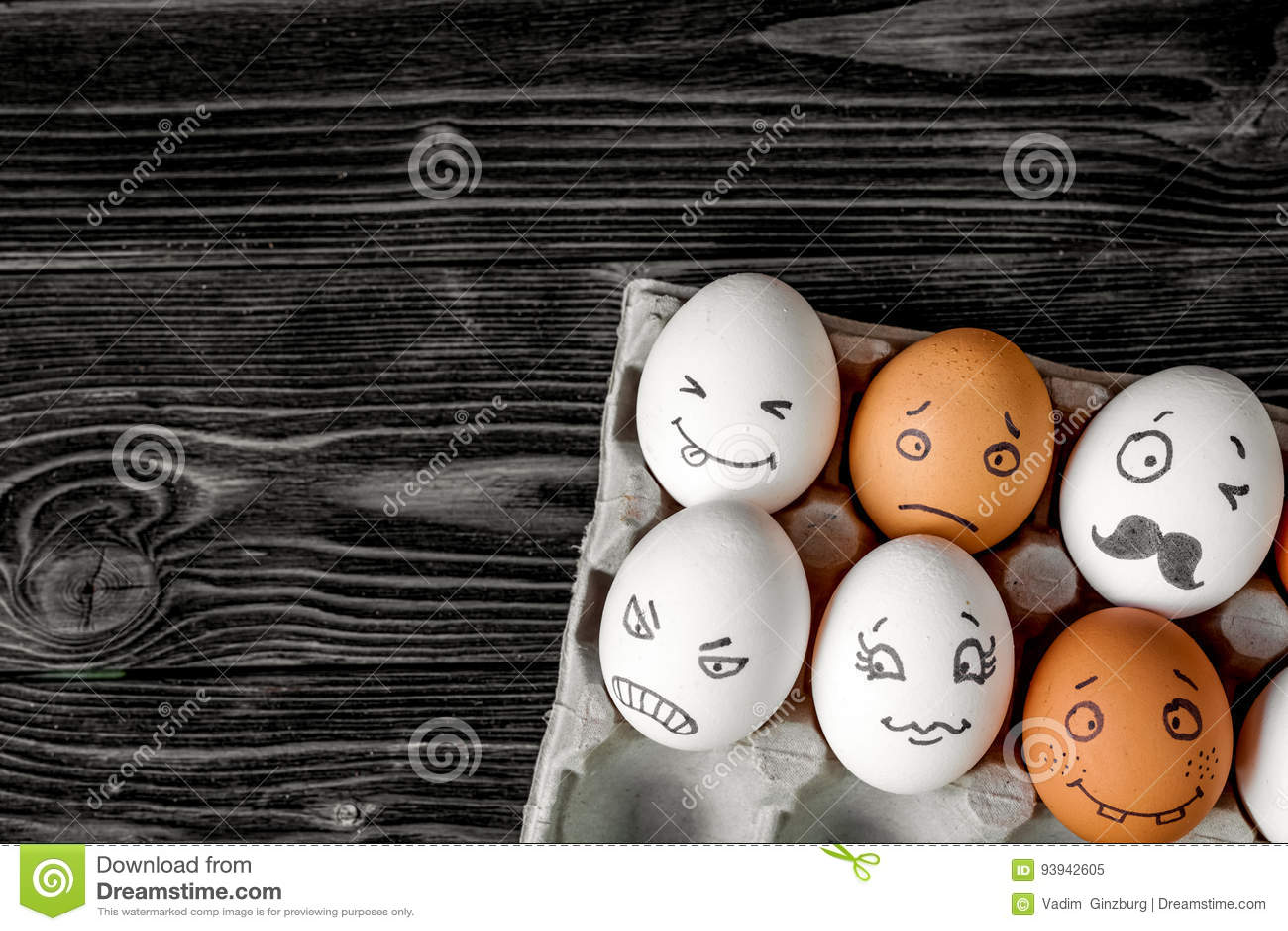 概念社会网络通信和情感-鸡蛋