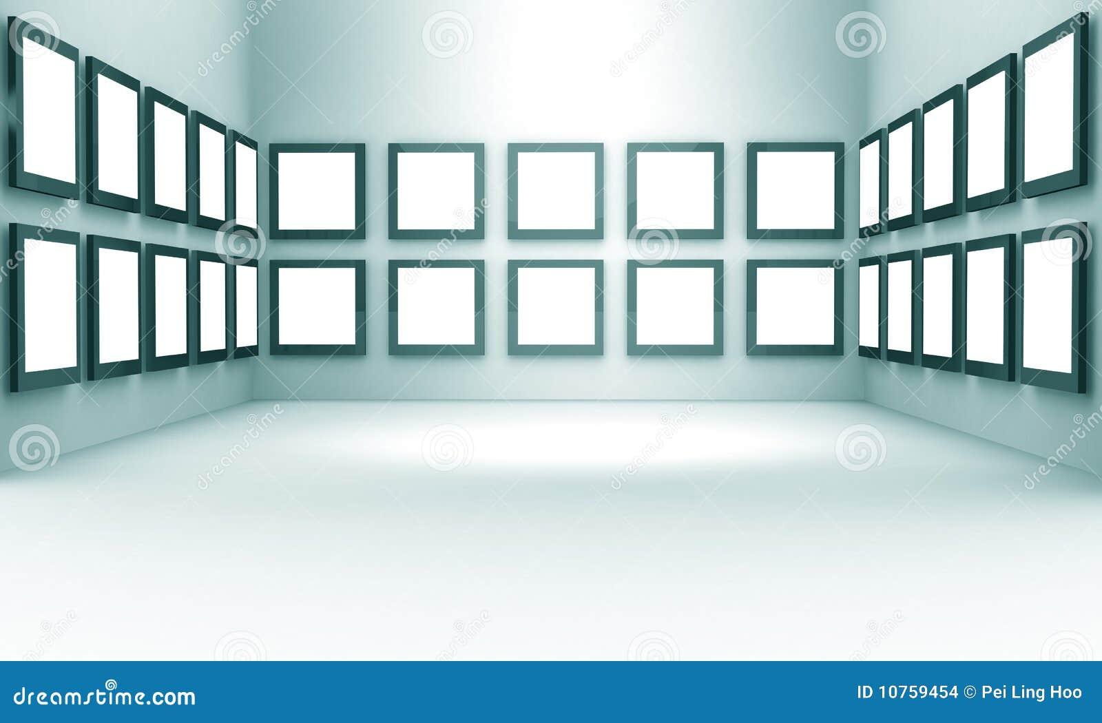 概念陈列画廊大厅照片