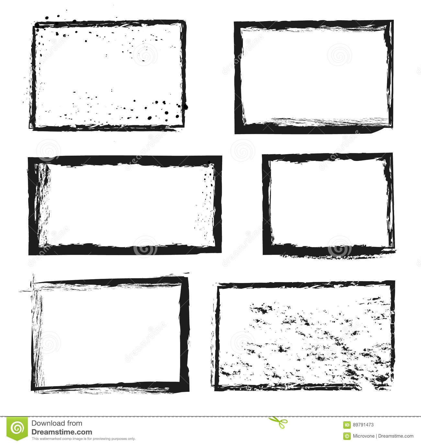 概略的难看的东西困厄了墨水传染媒介图象边界框架