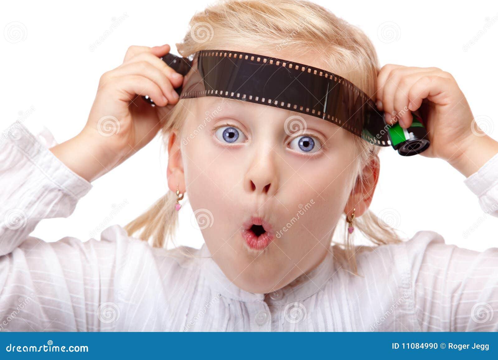 模式背景照相机儿童特写镜头影片查出老使用的白色.图片