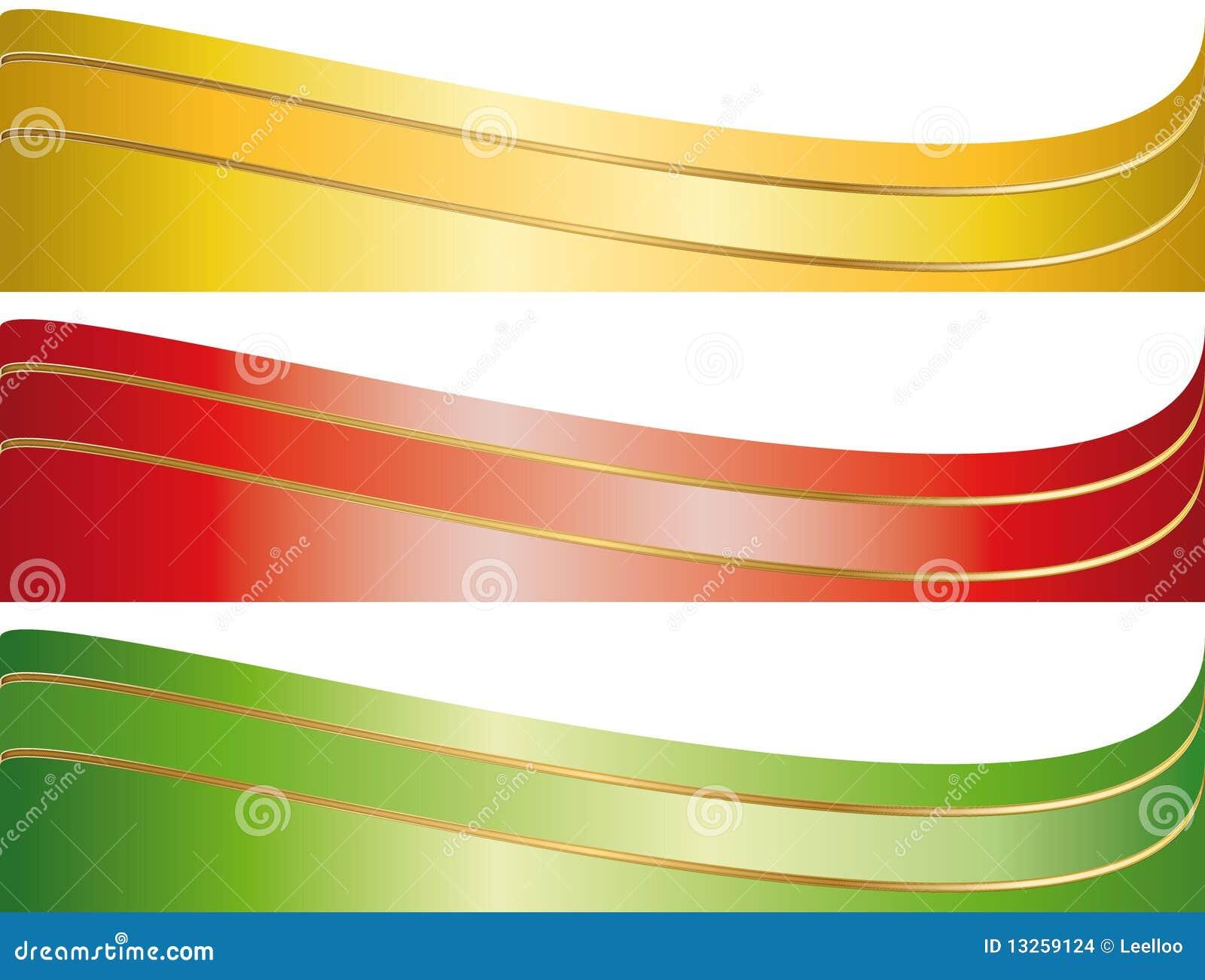 横幅说明集合磁带
