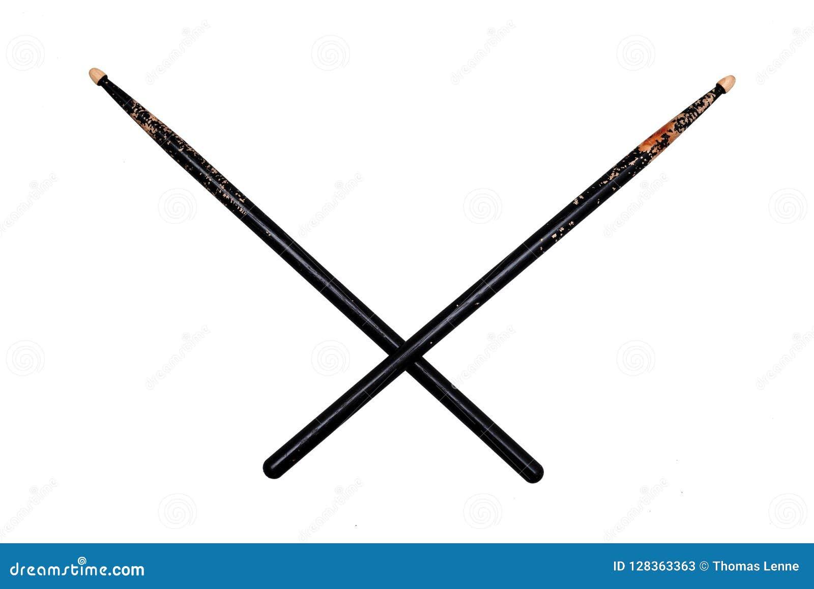 横渡的两使用了黑鼓槌
