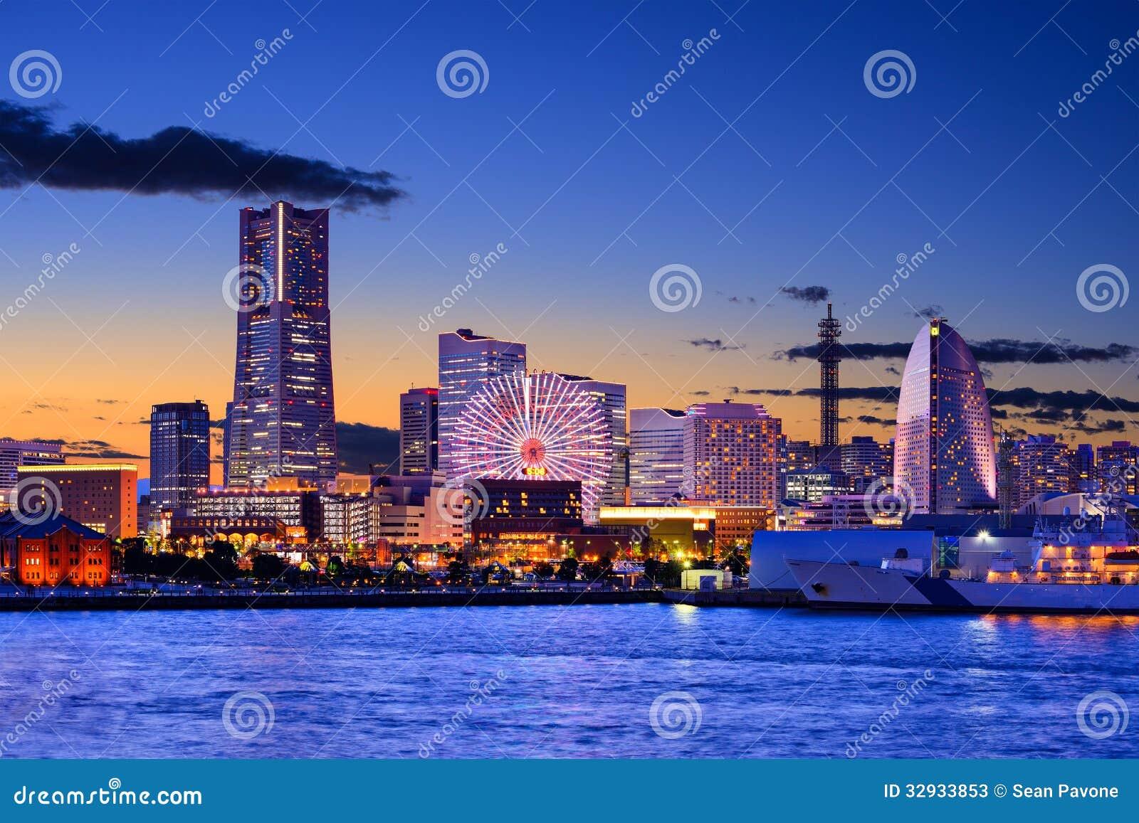 横滨,日本都市风景