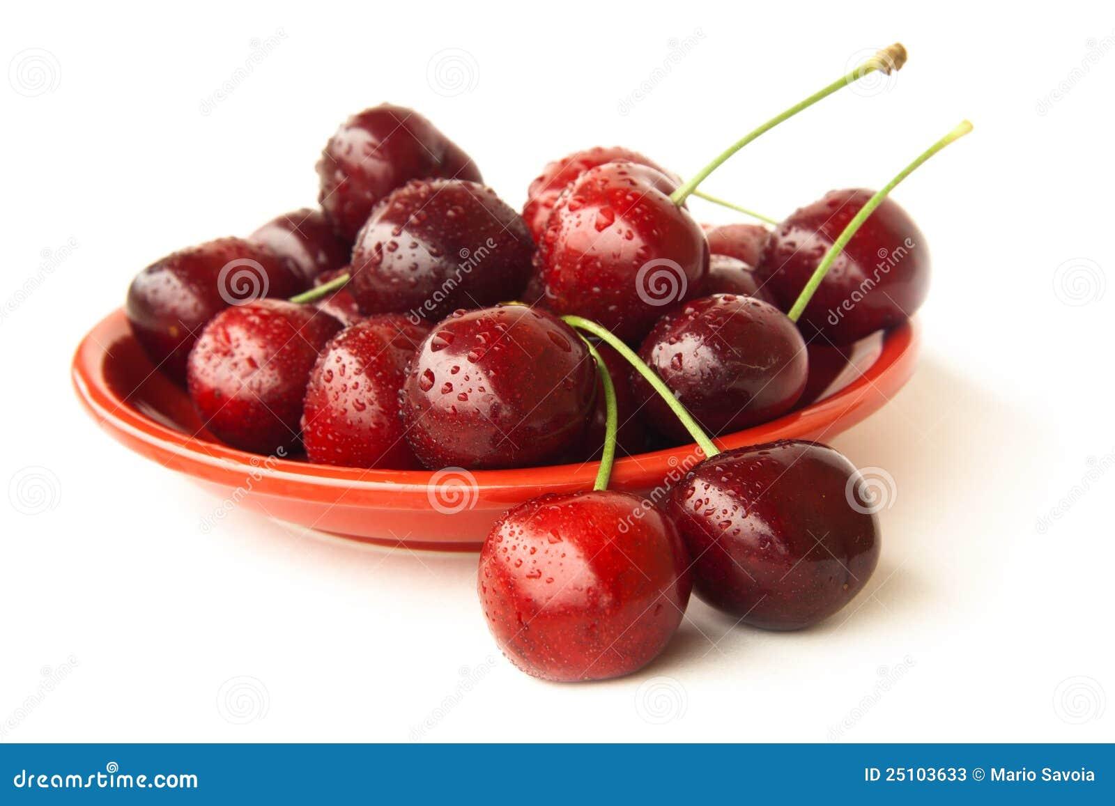 樱桃镀红色