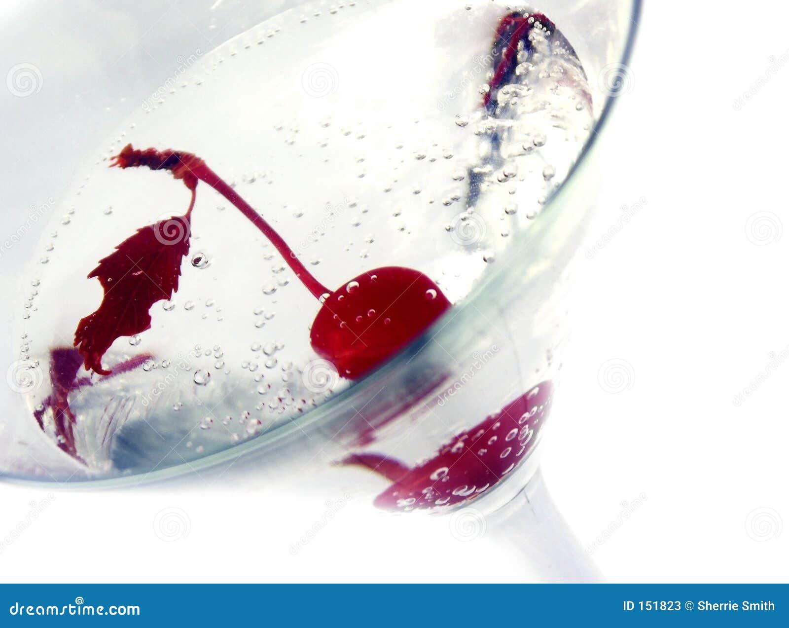 樱桃马蒂尼鸡尾酒