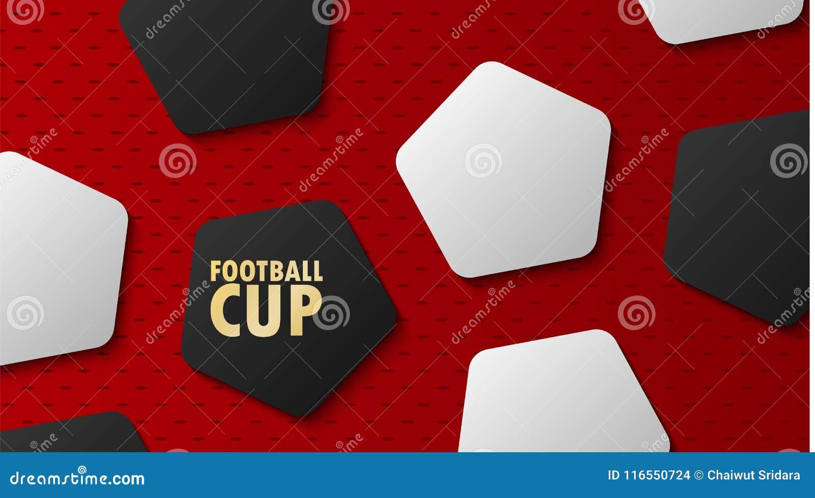 橄榄球世界冠军杯子,足球抽象背景, vec