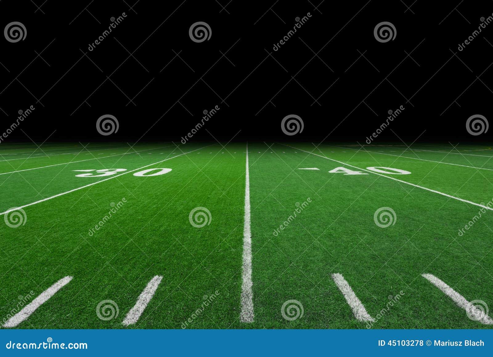 橄榄球场背景