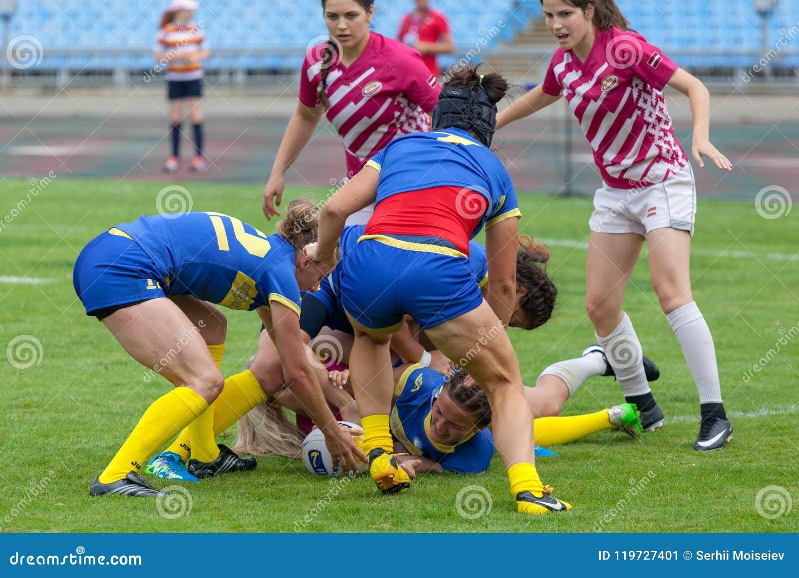 橄榄球欧洲妇女Sevens