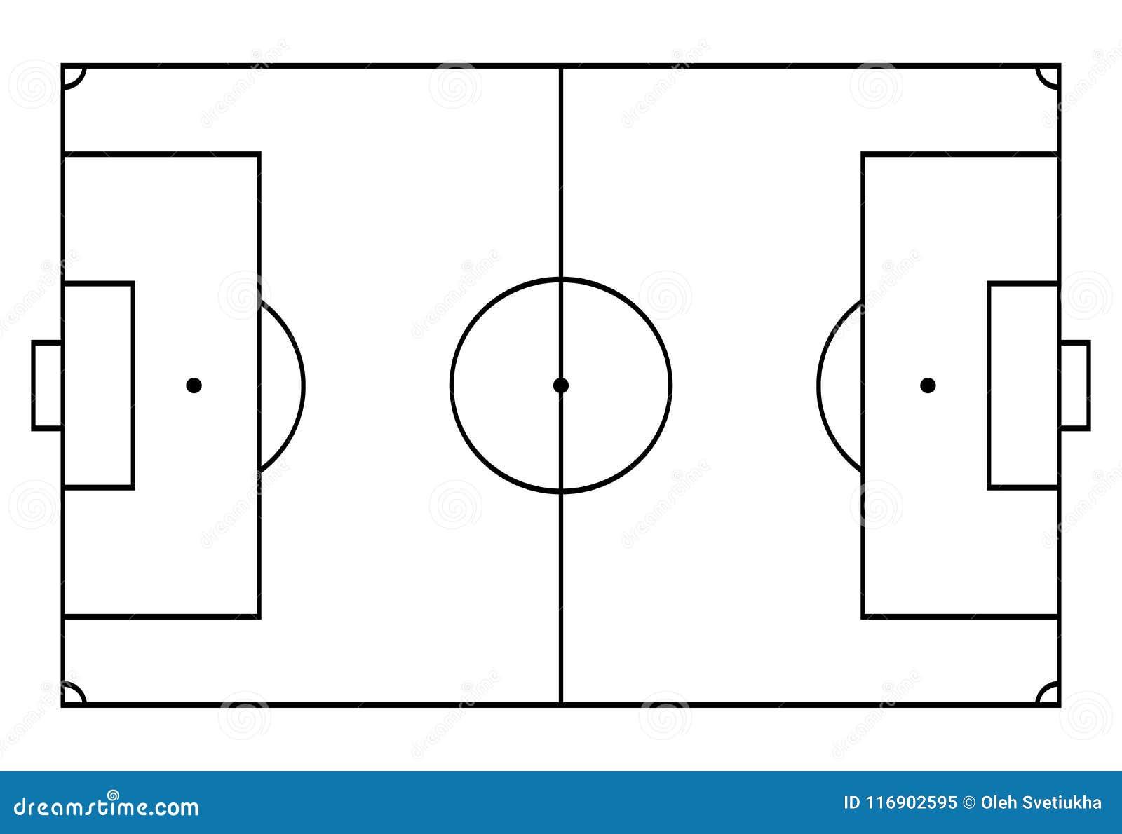 橄榄球,足球法院 体育运动背景 线艺术样式