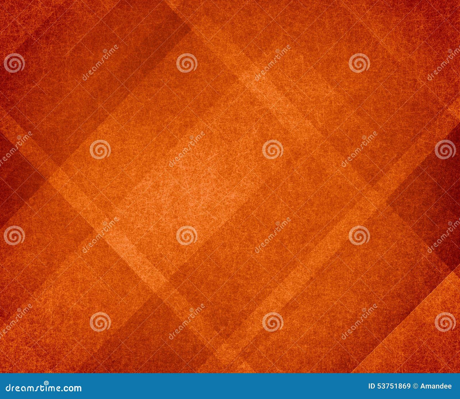 橙色感恩或秋天背景摘要设计