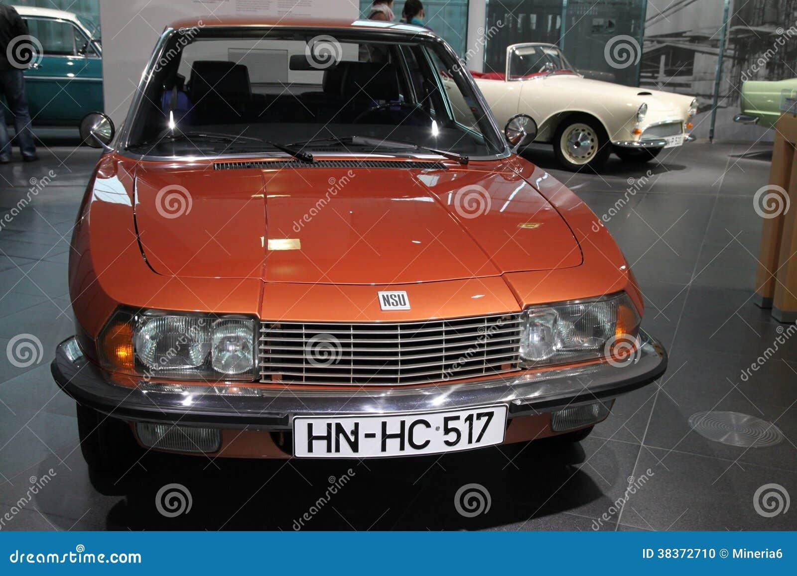 橙色经典之作NSU汽车