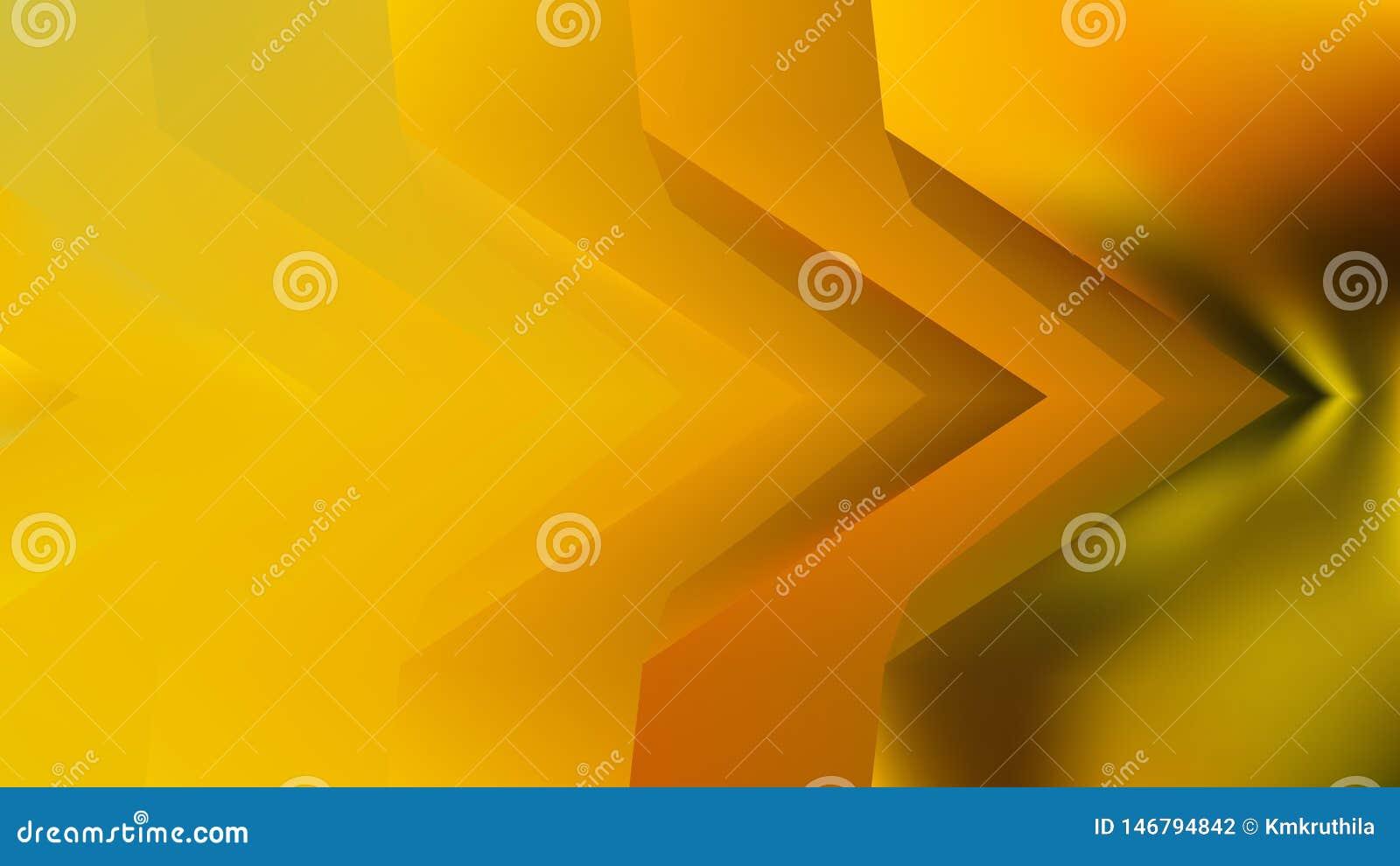 橙黄绿色背景美好的典雅的例证形象艺术设计背景