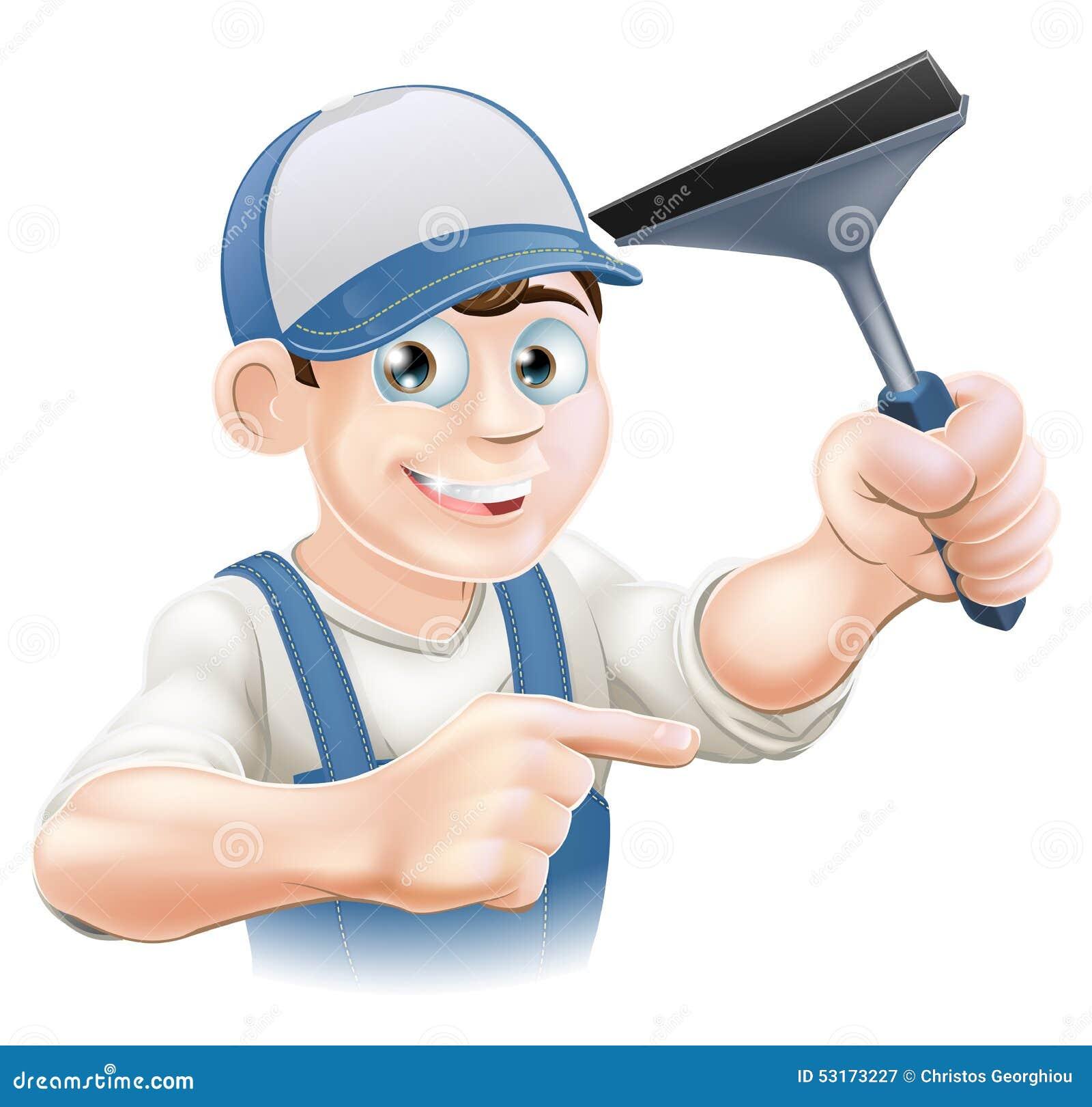 橡皮刮板风窗清洁器