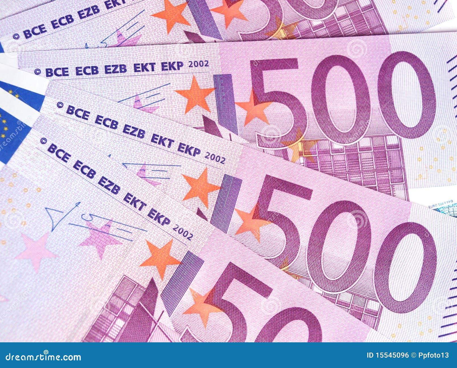 欧元五百图片