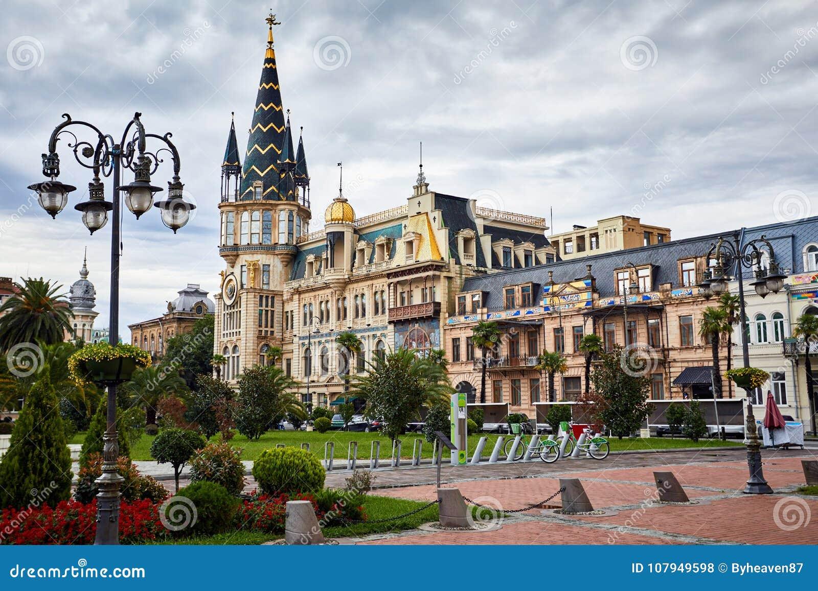欧洲广场在巴统