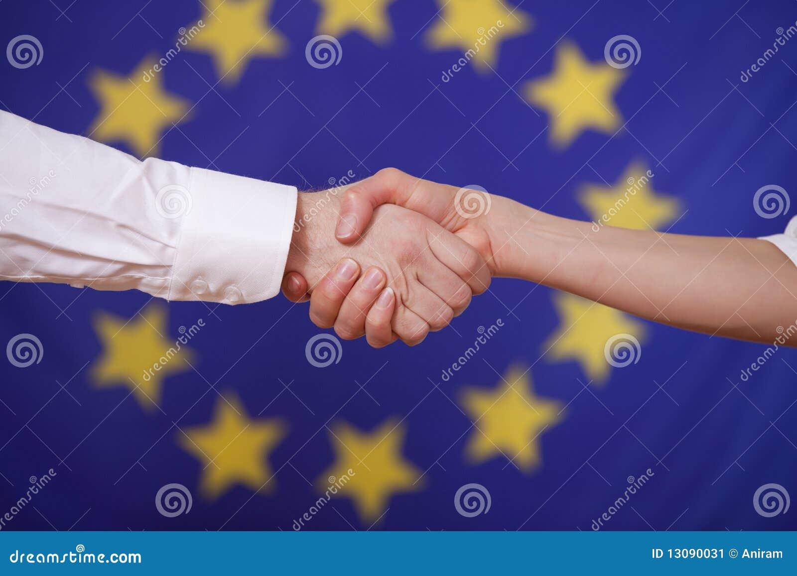 欧洲标志移交震动