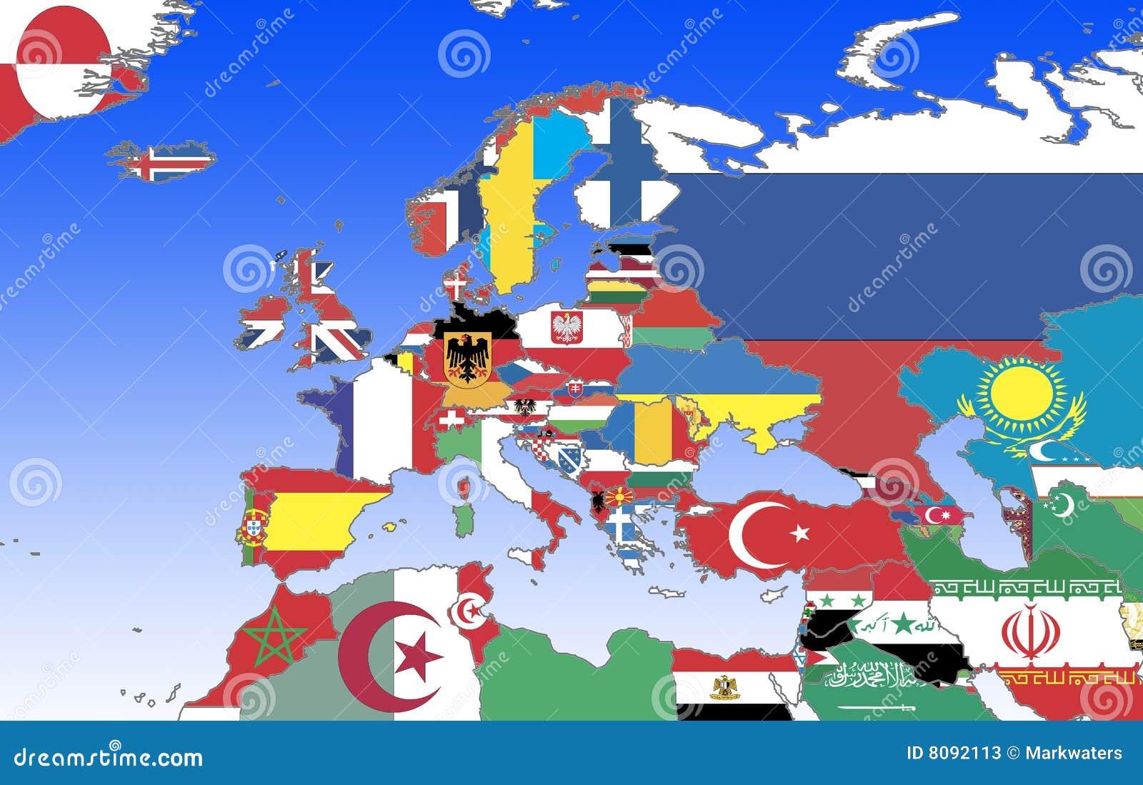 欧洲标记分级显示