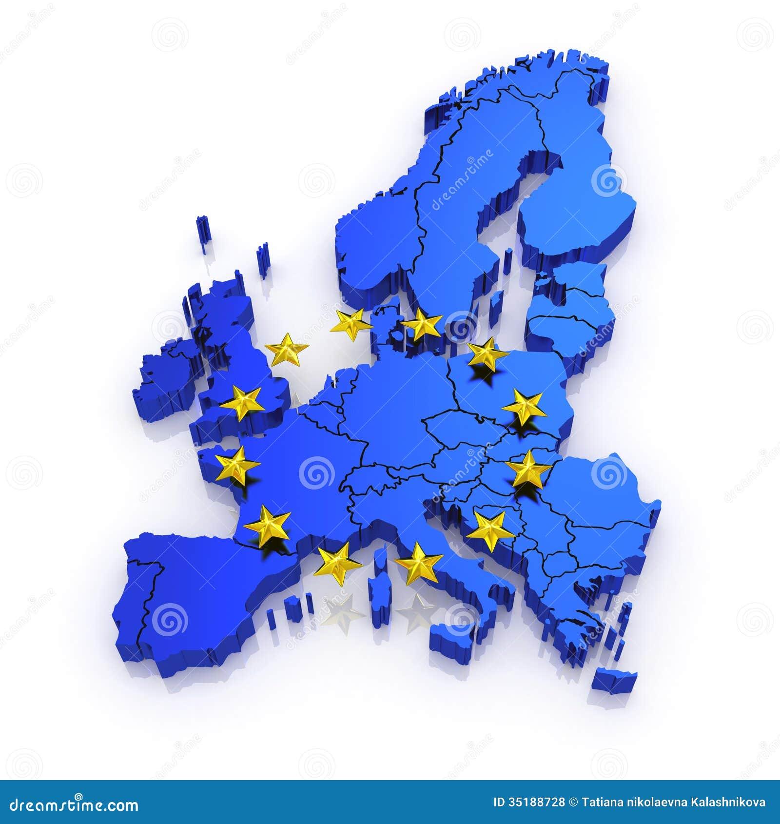 欧洲三维地图.3d.图片