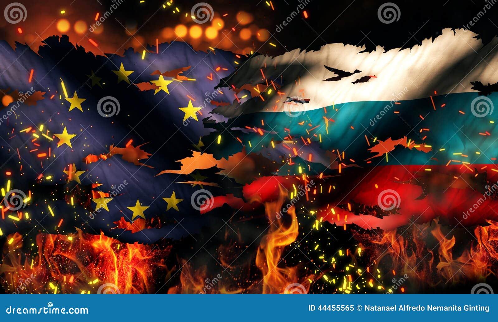 欧洲俄罗斯旗子兵连祸结的火国际冲突3D