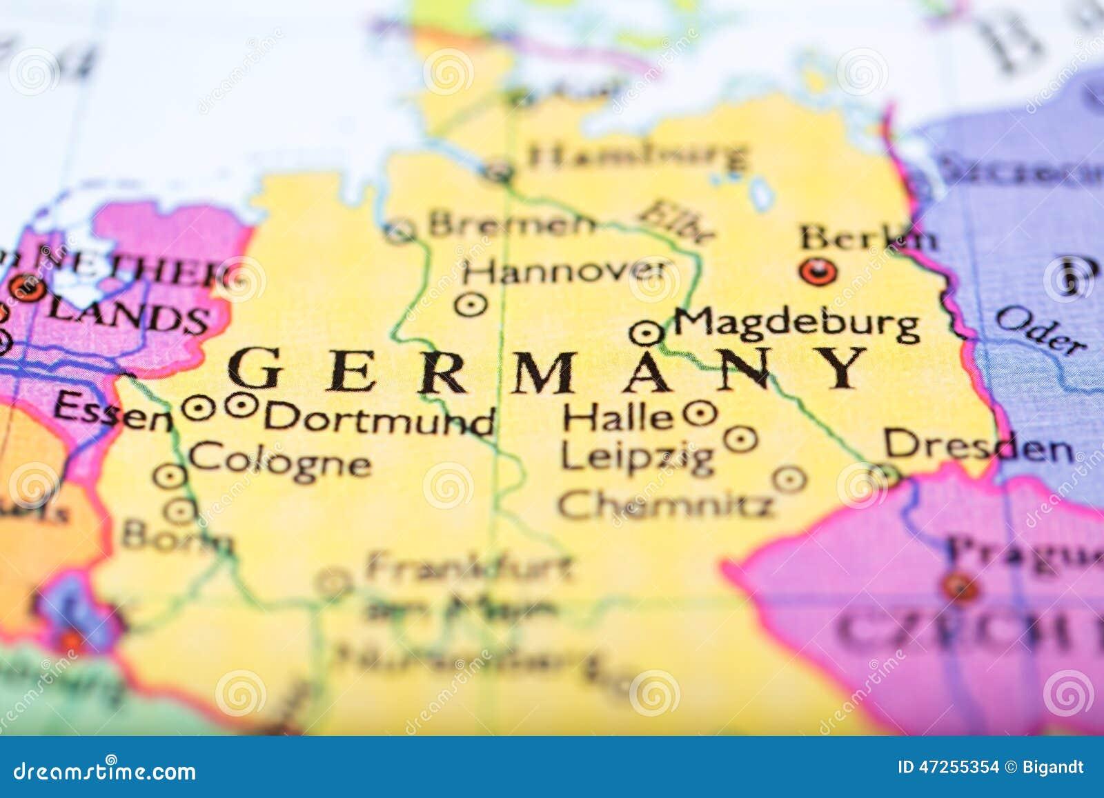 欧洲地图在德国围绕图片
