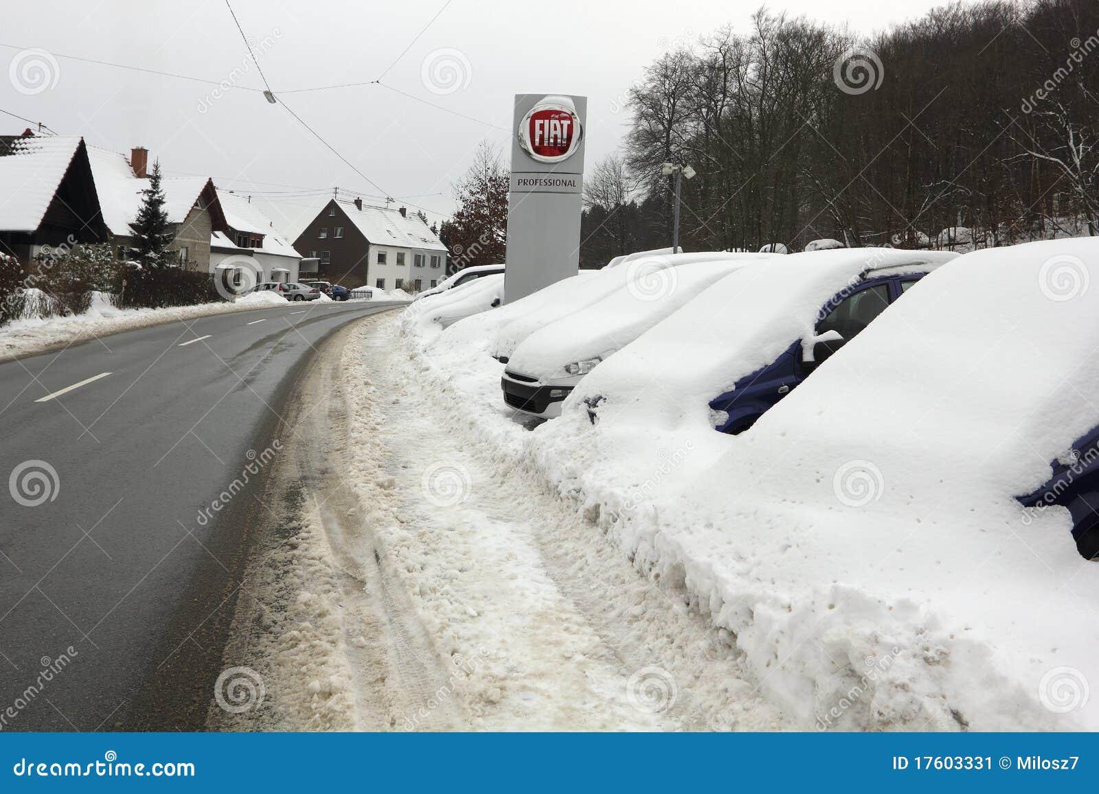 欧洲德国saarland冬天图片