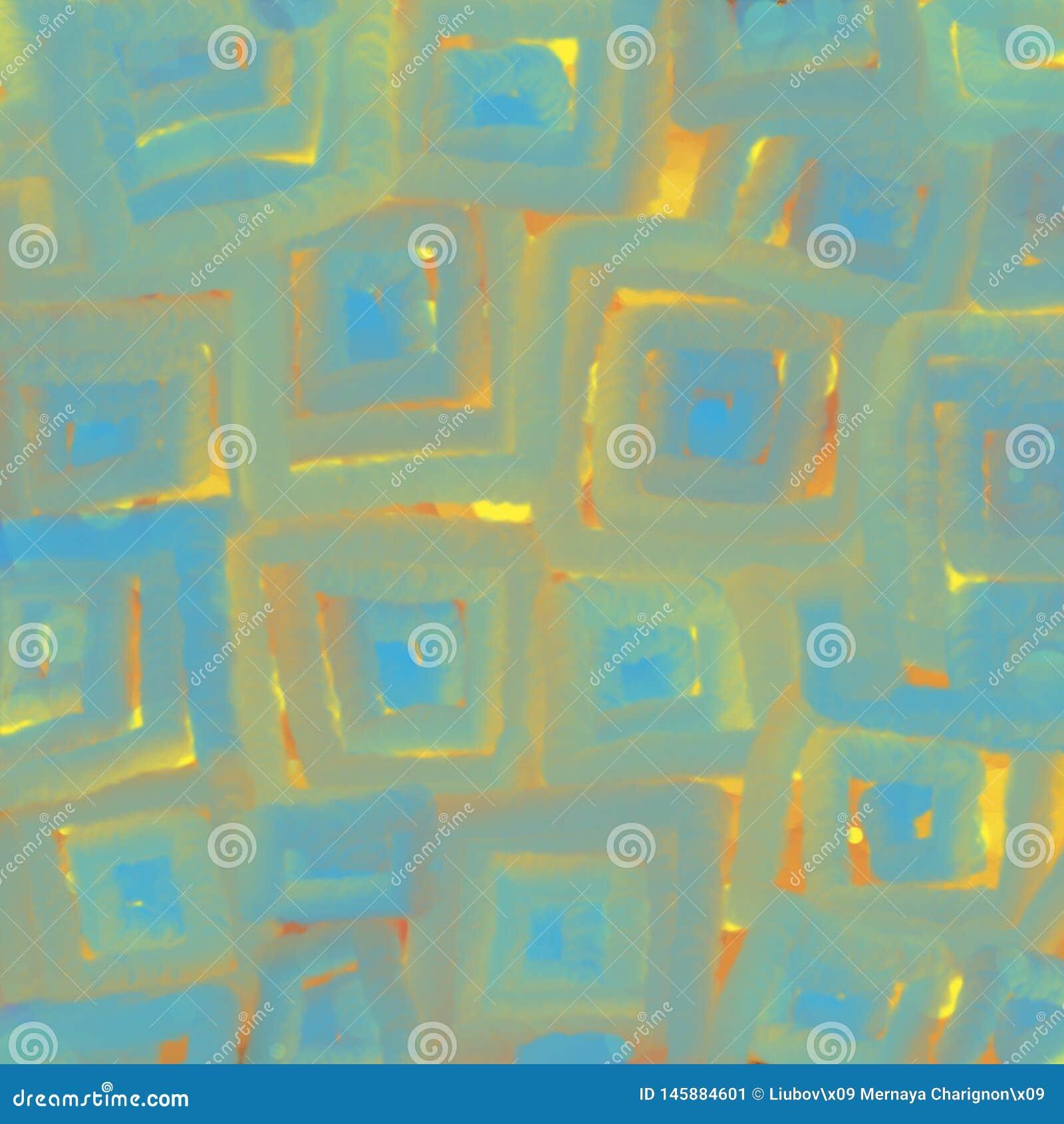 正方形发光的纹理,背景的抽象