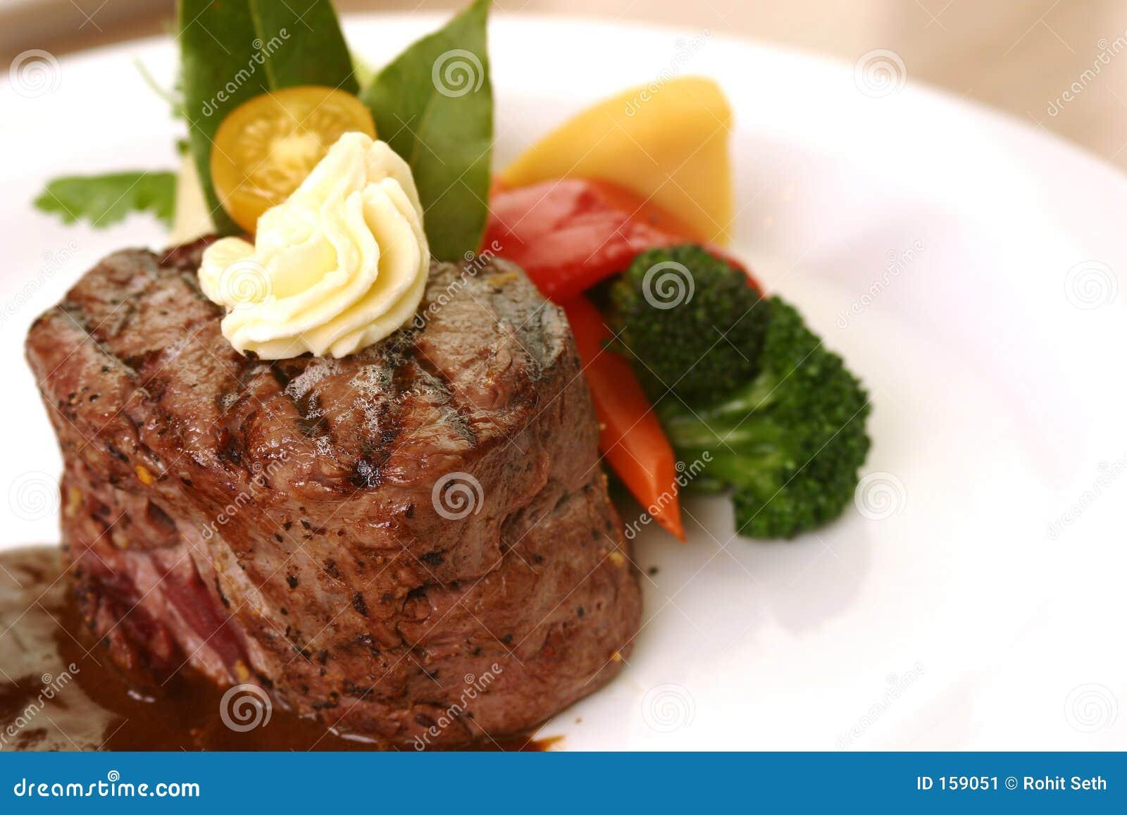 正餐牛排里脊肉
