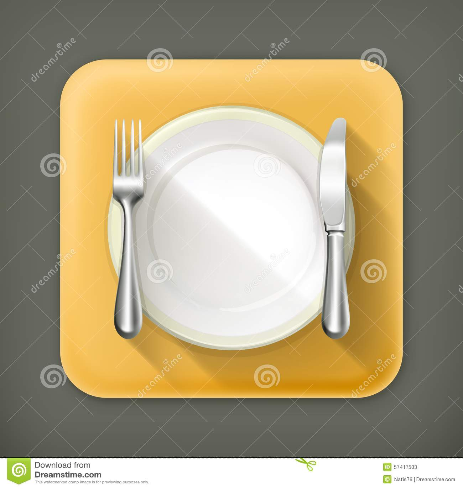 正餐餐位餐具