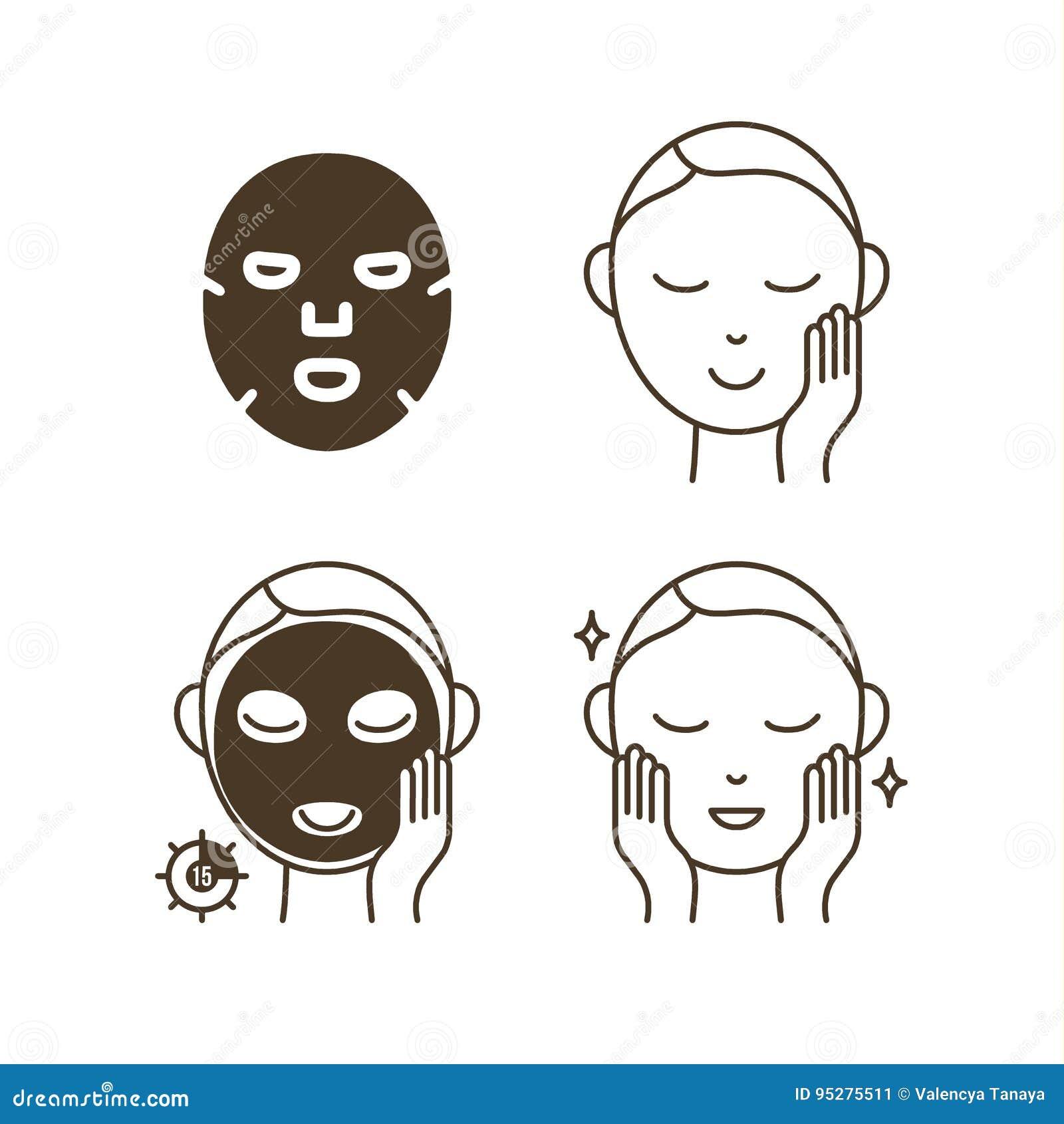步如何使用面部板料面具