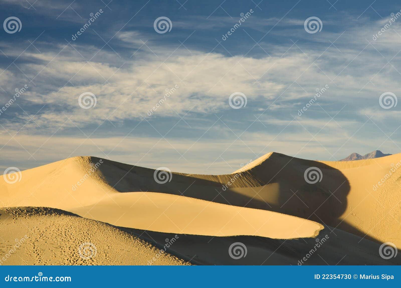 死亡沙丘沙子谷