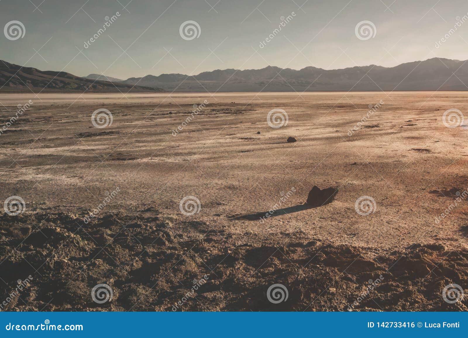 死亡谷荒原全景