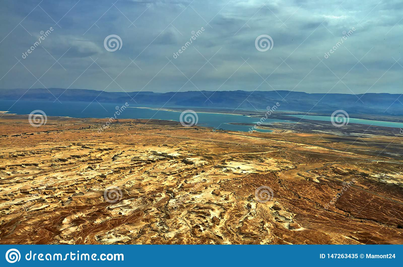 死海的看法照片