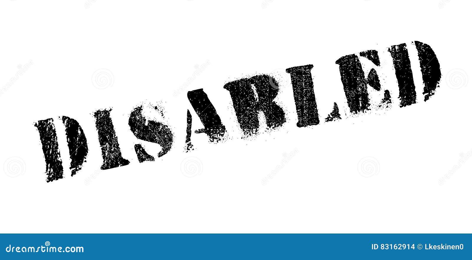 残疾不加考虑表赞同的人