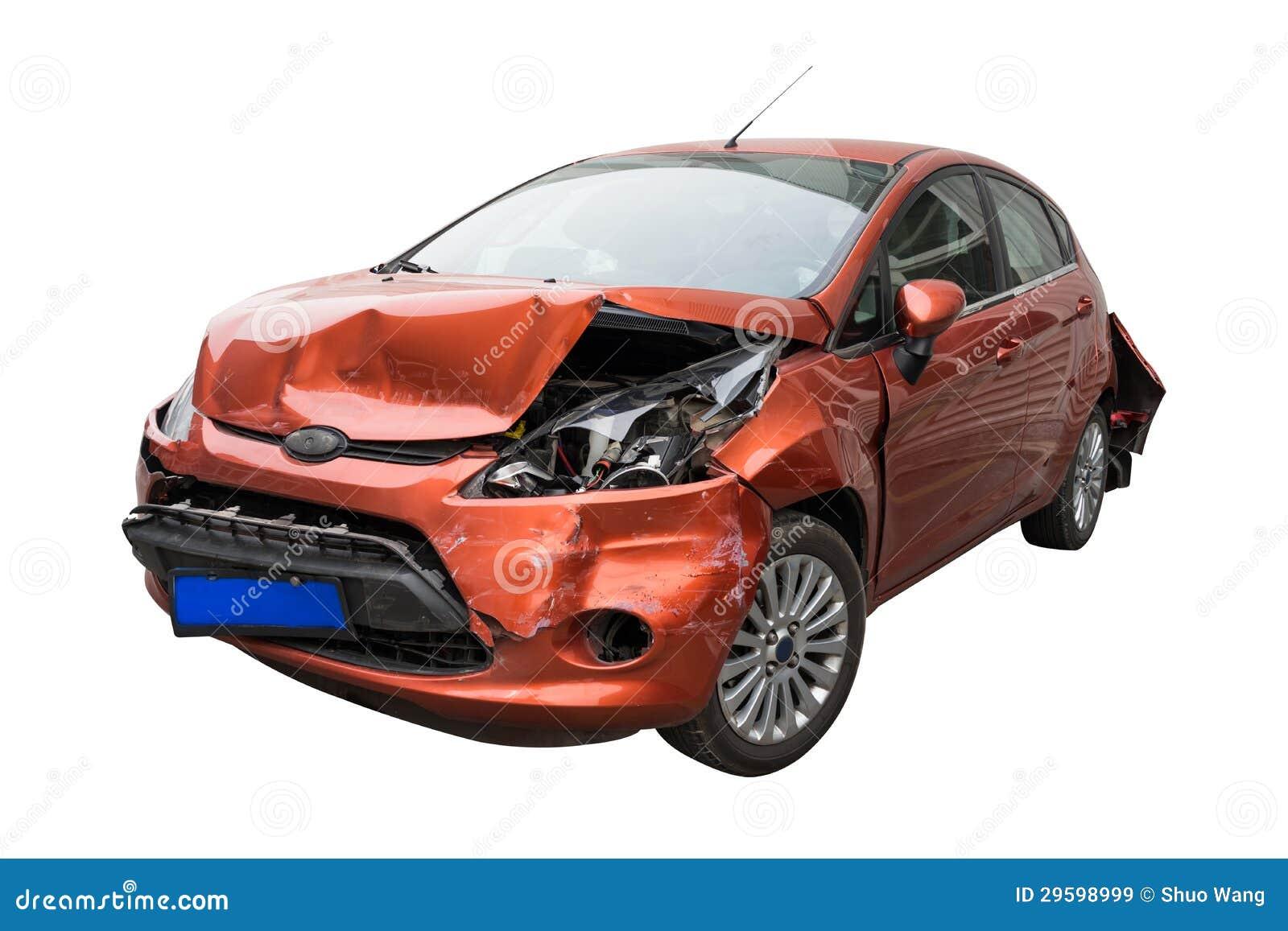 残破的汽车