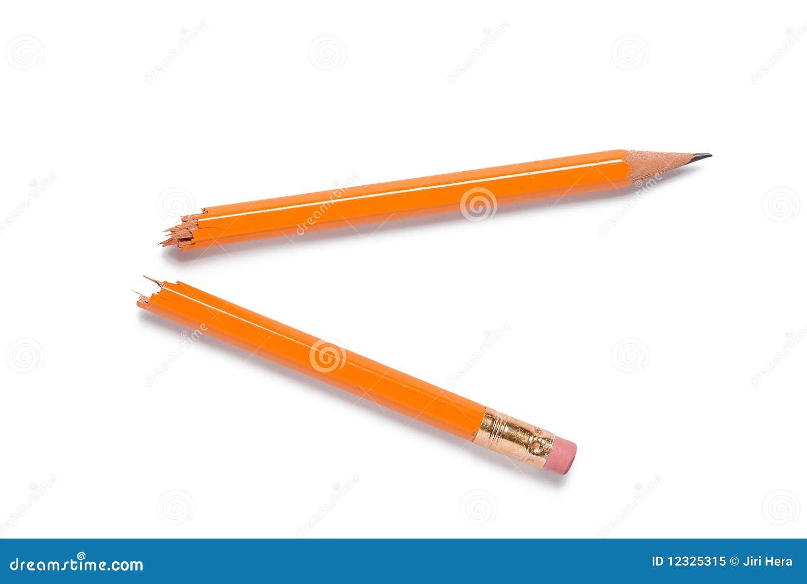 残破的铅笔