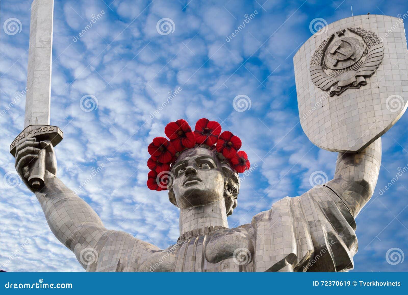 母亲祖国雕象