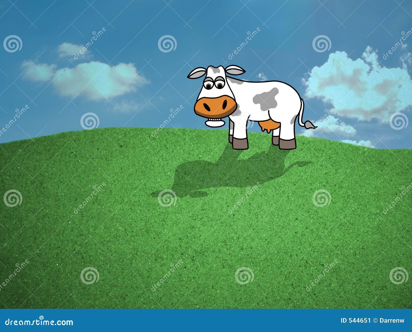 Download 母牛域 库存例证. 插画 包括有 农村, 范围, 仓前空地, 母牛, 查找, 夹子, 敌意, 图画, 夏天, 贝多芬 - 544651