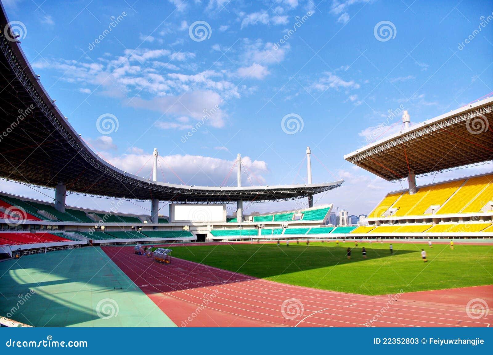 比赛足球场