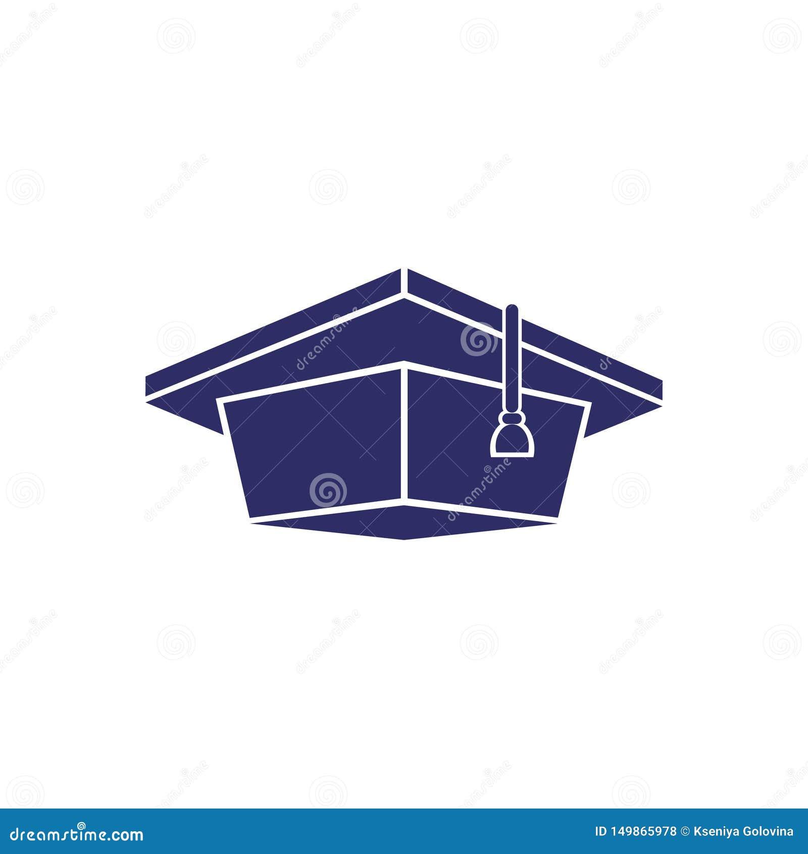 毕业生盖帽,单色被隔绝的图象