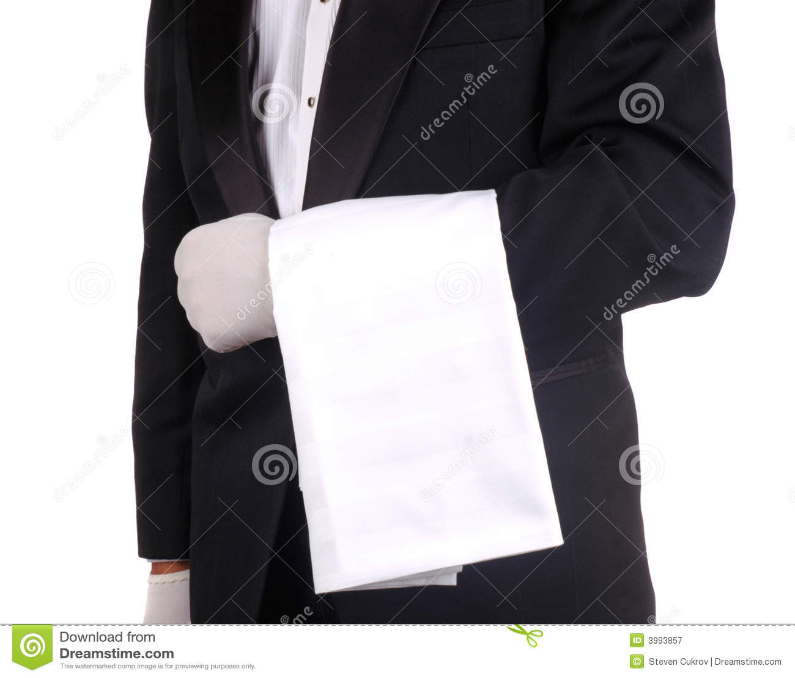 毛巾等候人员