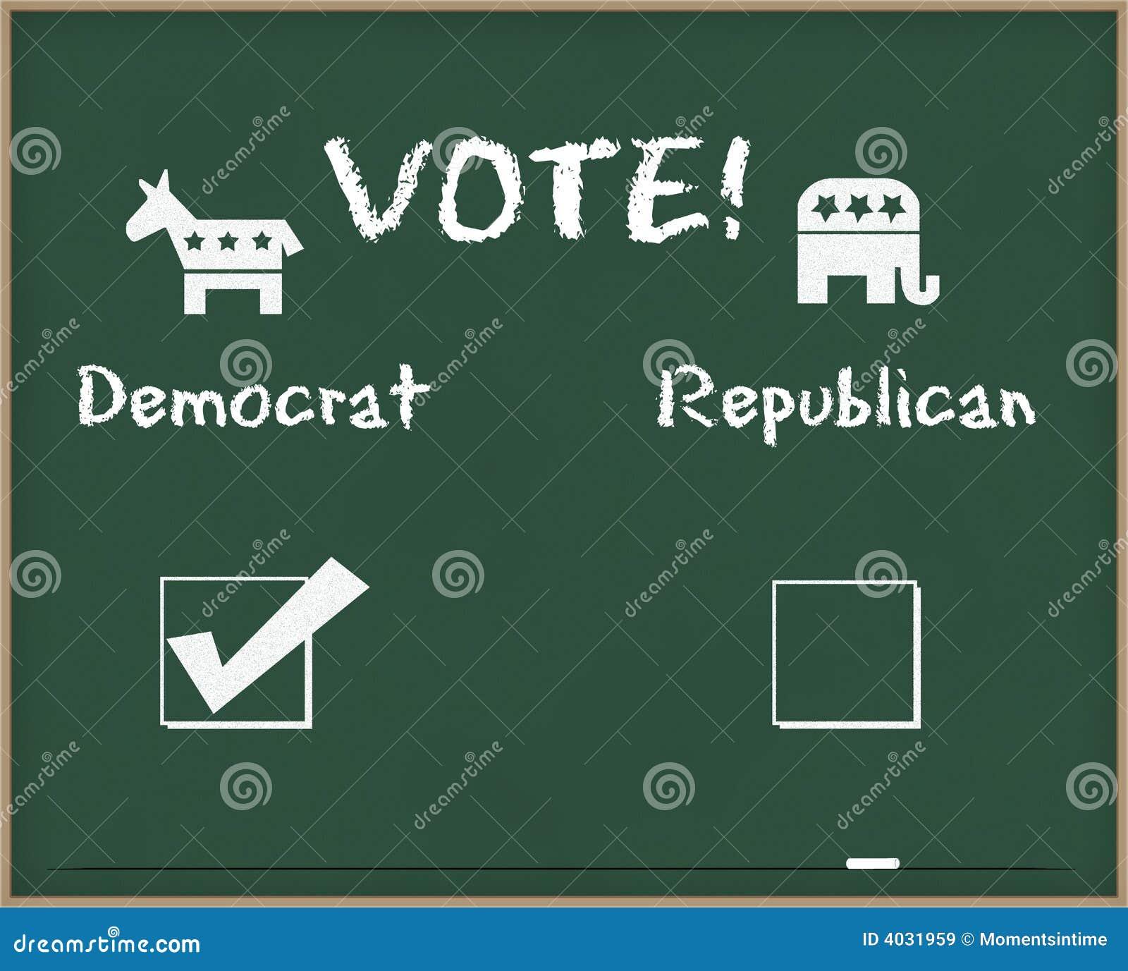 民主人士选择符号表决
