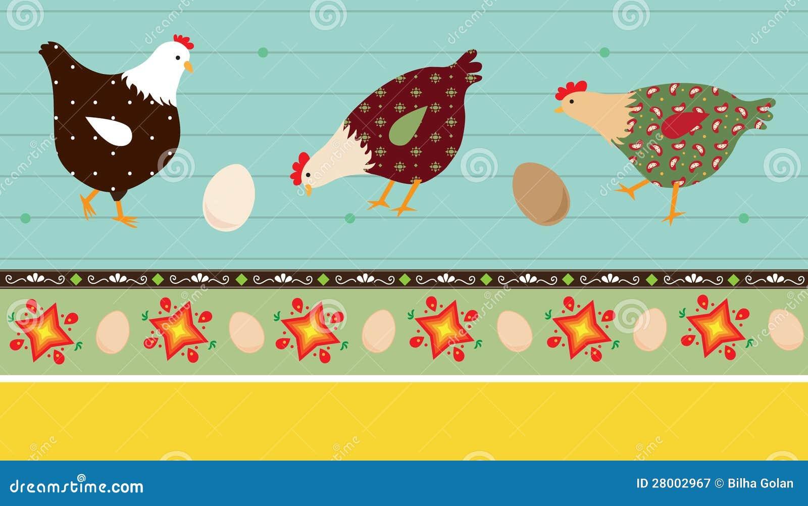 民间艺术鸡