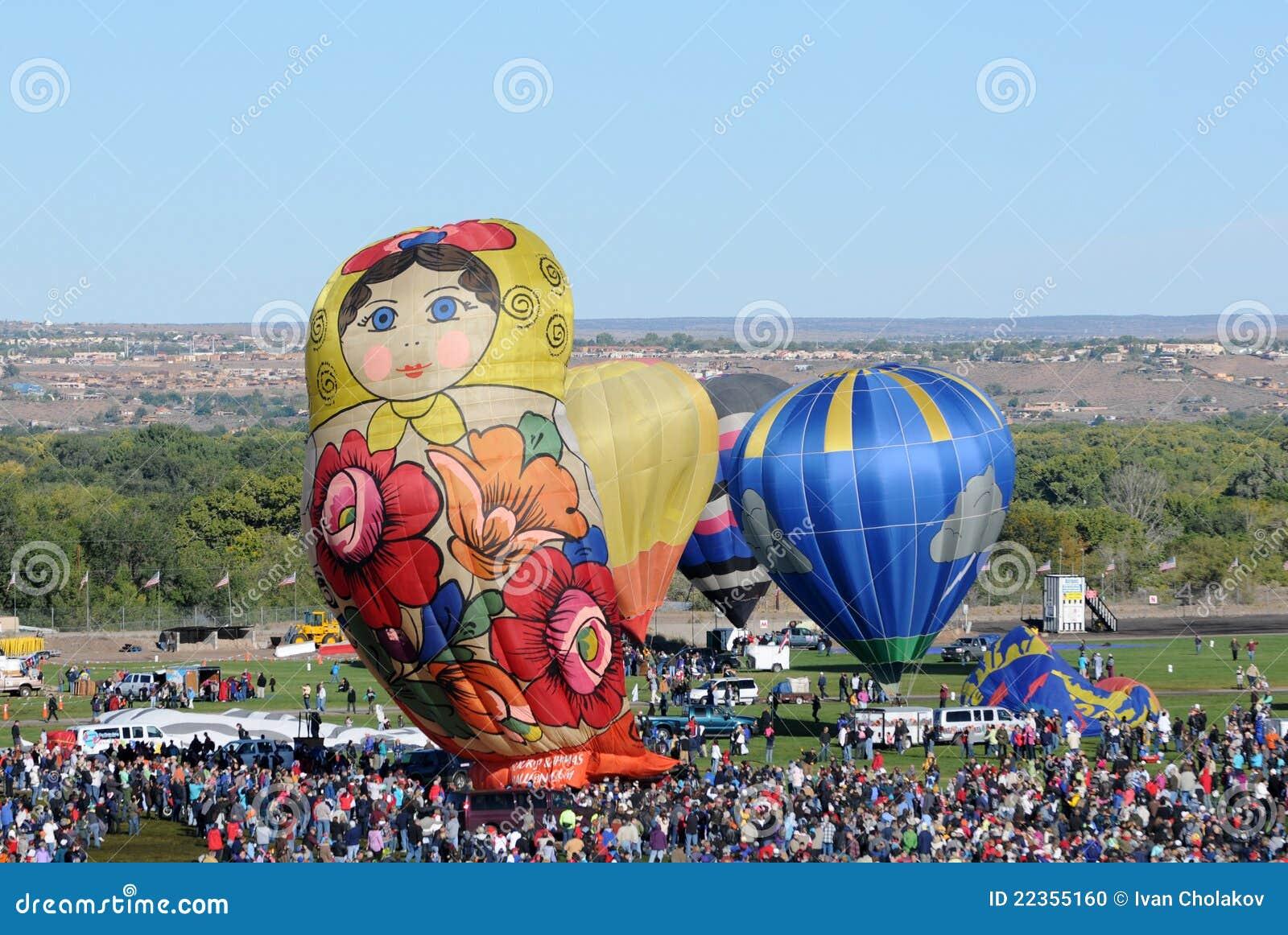 气球拥挤节日国际